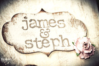 Stephanie and James